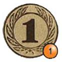 Medaille afslag 1