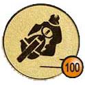 Medaille afslag 100