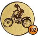 Medaille afslag 102