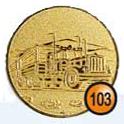 Medaille afslag 103