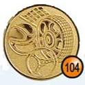Medaille afslag 104
