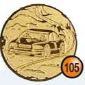 Medaille afslag 105