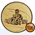 Medaille afslag 106