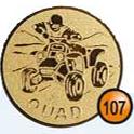 Medaille afslag 107
