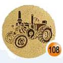 Medaille afslag 108