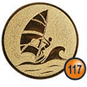 Medaille afslag 117
