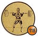 Medaille afslag 118