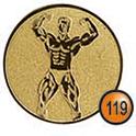 Medaille afslag 119