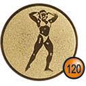 Medaille afslag 120