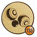 Medaille afslag 133