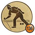 Medaille afslag 136