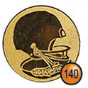 Medaille afslag 140