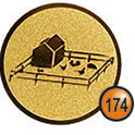 Medaille afslag 174