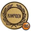 Medaille afslag 185