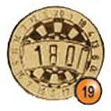 Medaille afslag 19