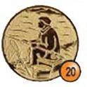 Medaille afslag 20