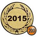 Medaille afslag 200