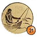 Medaille afslag 21