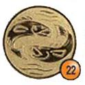 Medaille afslag 22