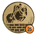 Medaille afslag 25