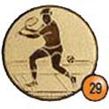 Medaille afslag 29