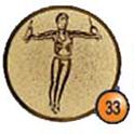 Medaille afslag 33