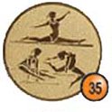 Medaille afslag 35