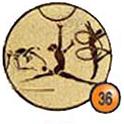 Medaille afslag 36