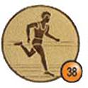 Medaille afslag 38