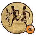 Medaille afslag 40