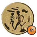 Medaille afslag 41