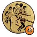 Medaille afslag 43