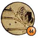 Medaille afslag 44