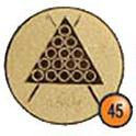 Medaille afslag 45