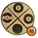 Medaille afslag 46