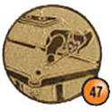 Medaille afslag 47