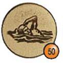 Medaille afslag 50