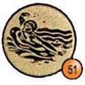 Medaille afslag 51