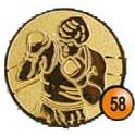 Medaille afslag 58