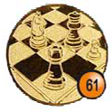 Medaille afslag 61