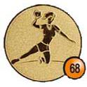 Medaille afslag 68