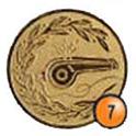 Medaille afslag 7