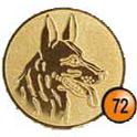 Medaille afslag 72