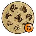 Medaille afslag 73