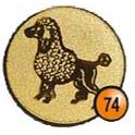 Medaille afslag 74