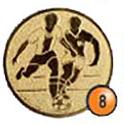 Medaille afslag 8