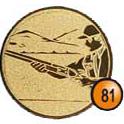 Medaille afslag 81