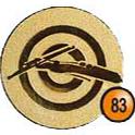 Medaille afslag 83
