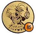 Medaille afslag 85