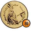 Medaille afslag 89